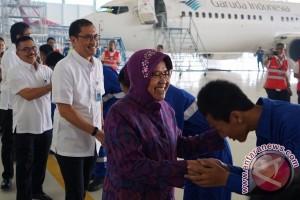 Walikota Risma kunjungi GMF terkait potensi kerjasama lanjutan