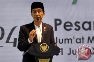Jokowi: Penduduk Muslim potensi dan kekuatan Indonesia