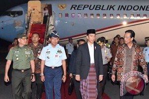 Presiden Jokowi bermalam di Yogyakarta