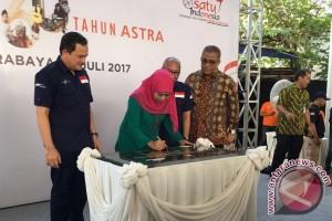 Menteri Khofifah apresiasi Astra percantik kampung pemulung