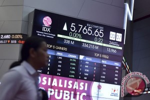 IHSG ditutup menguat 61,27 poin