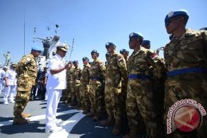 Keberangkatan Satgas Maritime Task Force TNI