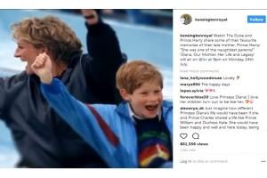Kenangan terakhir Pangeran William bersama Putri Diana dalam deretan foto