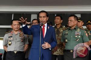 Presiden ingatkan ancaman global kepada Capaja TNI/Polri