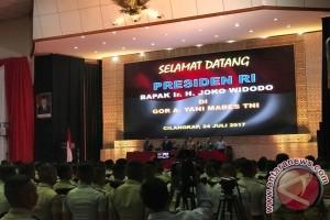 Presiden berikan pembekalan kepada Capaja Akademi TNI/Polri