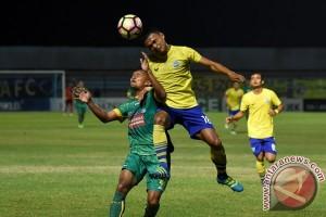 Persegres GU imbang lawan Sriwijaya 1-1