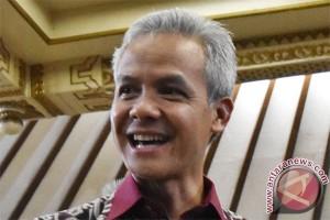 Ganjar Pranowo resmi mendaftar bakal cagub PDIP