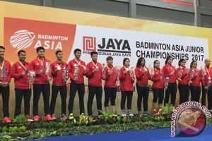 Indonesia peringkat dua dalam kejuaraan bulu tangkis junior Asia