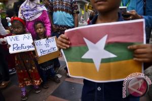Tuntutan Pengungsi Rohingya