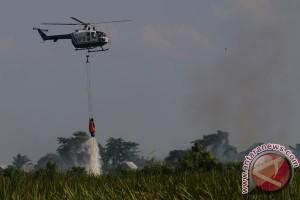 Sudah 21,67 juta ton air disiram dari udara atasi kebakaran Riau