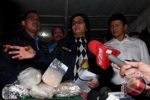 Menkeu datangi lokasi penggerebekan 300 kilogram sabu di Pluit