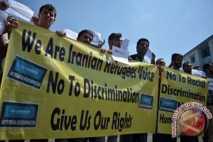 Imigran Iran Tuntut Kejelasan Status