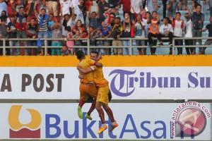 Sriwijaya lawan Persipura 0-1 babak I