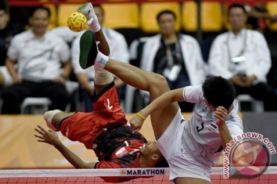 SEA Games 2017 - Tim putra takraw Indonesia raih perak