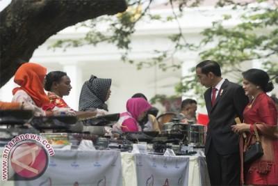 Narti Buo bangga dari kuliner bertemu Presiden Jokowi