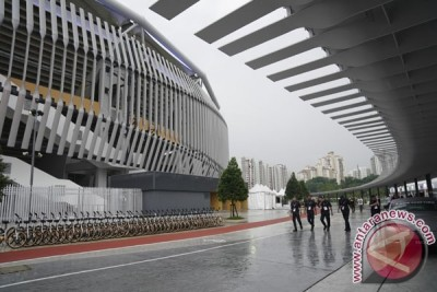 Pengamanan Jelang Pembukaan Sea Games