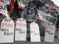 Aksi Dukung KPK