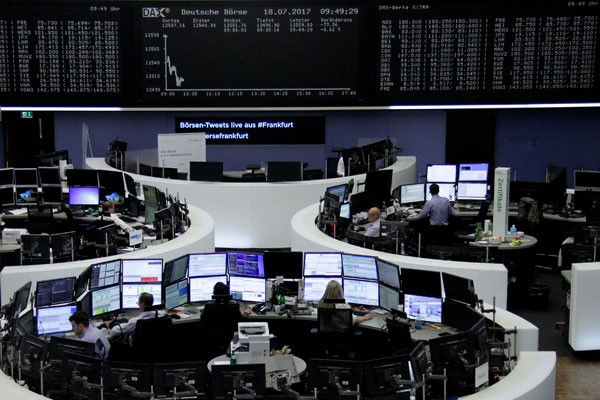 Indeks DAX-30 Jerman ditutup turun 0,45 persen