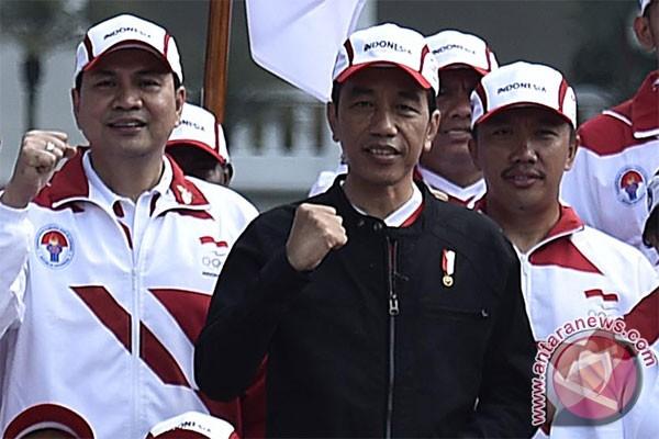 SEA Games 2017 - Presiden targetkan Indonesia juara umum