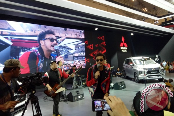 "Nidji dan ""bayi Pajero Sport"" meriahkan panggung Mitsubishi GIIAS 2017"