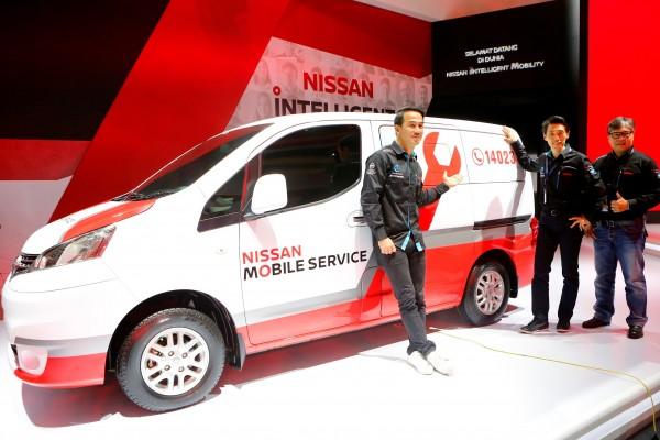 Nissan perkenalkan Nissan Intelligent Service di GIIAS 2017