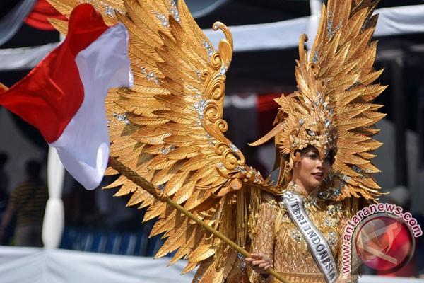 Putri Indonesia kagumi batik Medan