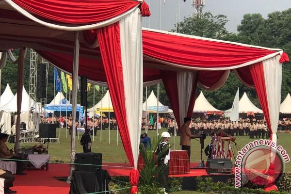 Presiden minta Pramuka jangan cuma dilatih tali-temali