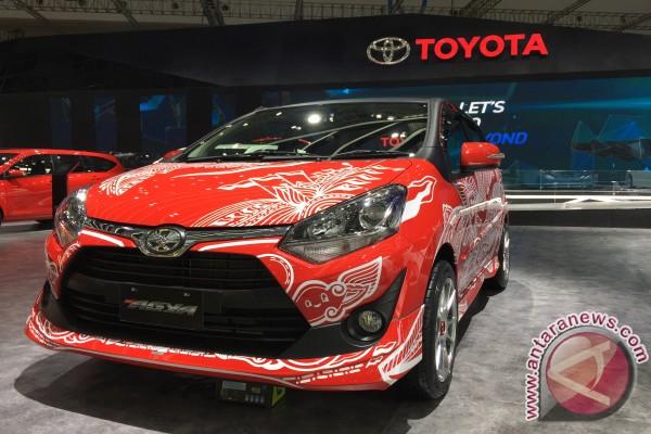 Toyota Agya dengan doodle kemerdekaan sambut 17 Agustus