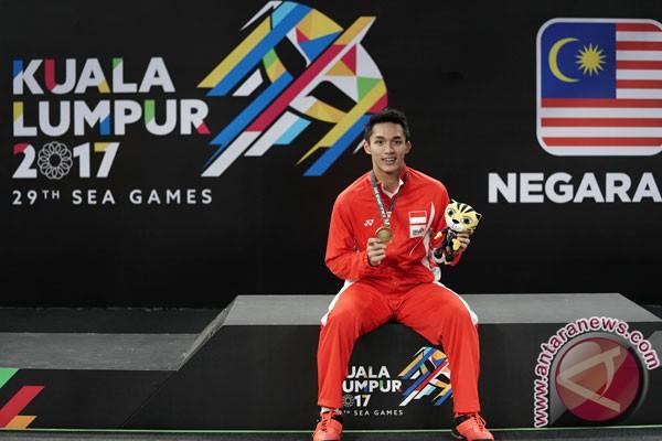 SEA Games 2017 - Jonatan tambah emas bulu tangkis