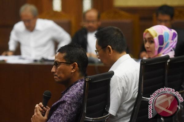 Sandiaga bantah pertemuan dengan Anas, Nazar, Dudung