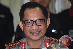 Kapolri menyebut Jabar dan Papua rawan konflik