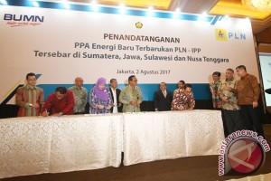 Penandatanganan PPA PLN-IPP