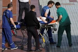 Tiga tewas di Pengadilan Rusia setelah senjata petugas direbut