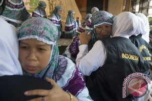 Seorang calon haji Kloter 11 Medan gagal berangkat