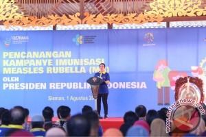 Menko Puan : Tahun 2020 anak-anak Indonesia terlindung dari campak Rubella