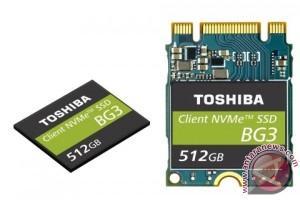 Toshiba Memory Corporation luncurkan client SSD berkemasan tunggal NVMeTM yang menggunakan flash memory 3D berlapis 64