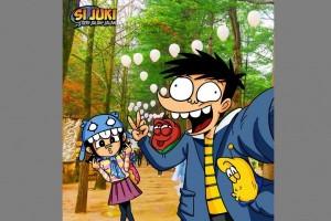 Komik kolaborasi Si Juki dan Larva diluncurkan di Popcon Asia 2017