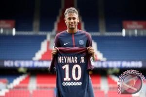 Neymar masuk tim inti PSG lawan Guingamp