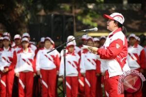 Pemerintah resmi melepas kontingen Indonesia SEA GAMES XXIX 2017