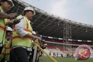 Renovasi Stadion Utama GBK capai 82 persen