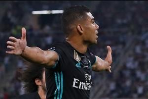 Real Madrid ungguli MU 1-0 babak pertama
