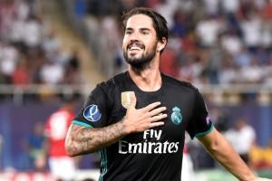 Real Madrid perpanjang kontrak Isco hingga 2022