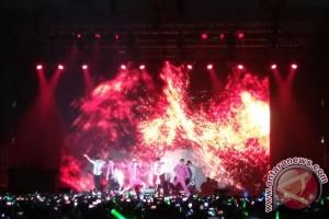 Raisa, NCT 127, DNCE, AmPm di konser lintas negara semalam