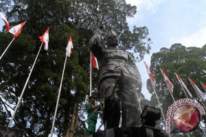 Seniman asal Bandung peringati hari lahirnya Bung Hatta