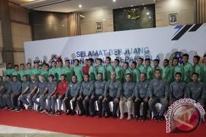 SEA Games 2017 -- Timnas U-22 bertolak ke Kuala Lumpur Sabtu