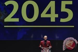Agus Yudhoyono sebarkan semangat Indonesia Emas 2045