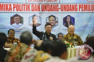 Diskusi Undang-Undang Pemilu