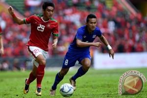 Indonesia vs Thailand berakhir imbang 1-1