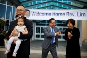 Pastor Kanada pulang ke rumah setelah dibebaskan Korea Utara