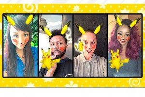 Snapchat hadirkan filter Pikachu